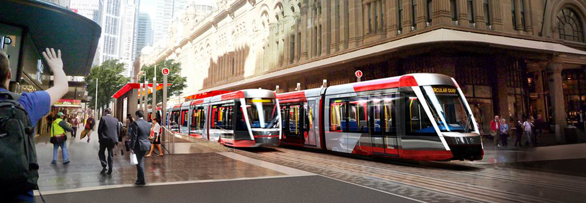 Sydney Light Rail Design Model